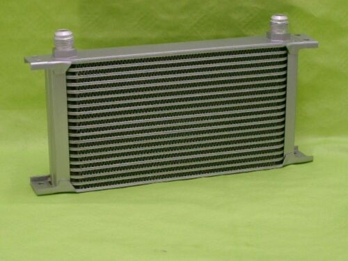 Burstflow Universal Oil Cooler 19 Row AN10 additional oil cooling External Oil Cooler