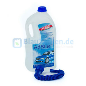 2-58-1L-5-l-Flasche-AdBlue-mit-Hoyer-Ausgiesser-Hochreine-Harnstoffloesung