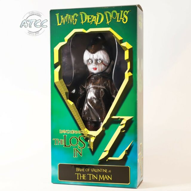 "Living Dead Dolls The Lost in OZ BRIDE OF VALENTINE as TIN MAN 10"" DOLL Mezco"