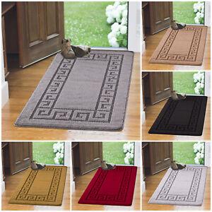 Luxury Non Slip Indoor Door Mats Washable Absorbent Area Rug Kitchen Floor Mat Ebay