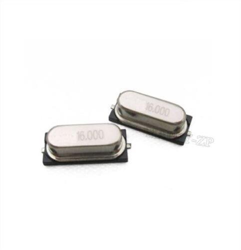 30Pcs Oscillateur À Quartz HC-49S Smd 16Mhz 16.000 Mhz nh