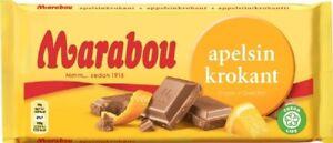 marabou apelsinkrokant kcal