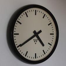 PRAGOTRON  Vintage Bakelite Industrial Clock Factory 37 cm