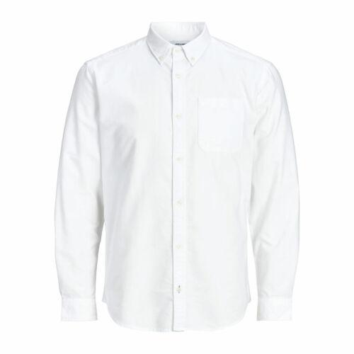 Jack And Jones Oxford Shirt Long Sleeve Casual Look Slim Fit RRP £40