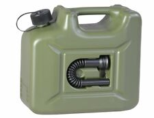 HP 10l Kanister KST Grün Oliv Profi UN Zulassung Armi Benzin Kraftstoff 801000 #
