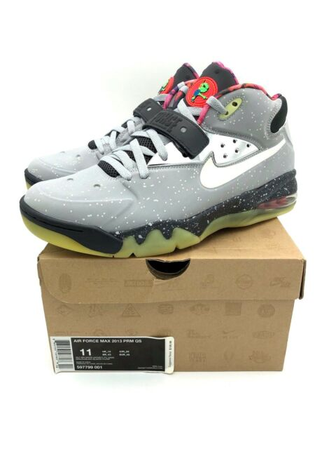Nike Air Force Max 2013 PRM QS Area 72 597799 001 Rayguns All Star 11 Grey 3m