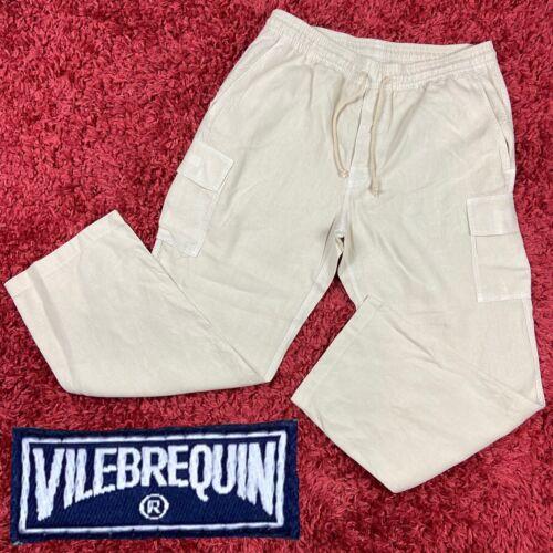 Vilebrequin Mens Premium Linen Woven Pacha Cargo D