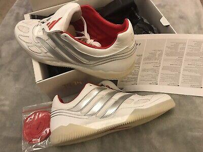 Adidas Predator Precision TR blanc argent édition Limitée Baskets Astro UK 10.5 | eBay