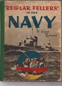 """REG'LAR FELLERS"" IN THE NAVY by Gene Byrnes (1943) HC"