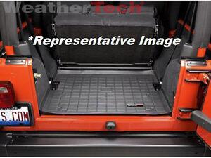 Weathertech Cargo Liner Trunk Mat For Jeep Wrangler 1987 1995 Black Ebay