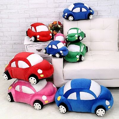 New Cute Car Shape Bed Sofa Chair Throw Cushion Lumbar Pillow Toy Pillow Gift