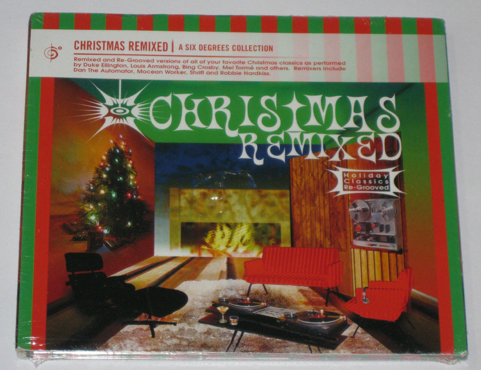 Six Degrees Collection: Christmas Remixed-Holiday by Various Artists (CD,  Jan-2005, Six Degrees)