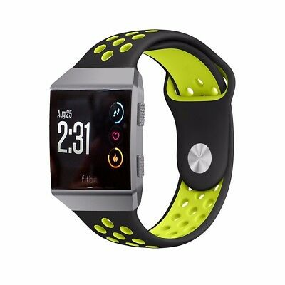 Silicone Replacement Band Sport Bracelet For Fitbit Ionic Watch Strap Watchband