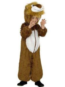 marchi riconosciuti scegli il meglio servizio duraturo Dettagli su COSTUME LEONE 5-8 Anni Bambini Vestito Lion Animali Carnevale  Leoncino 110 30012