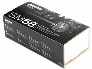 Shure SM58S Dynamic Vocal Microphone with On/Off Switch - New...