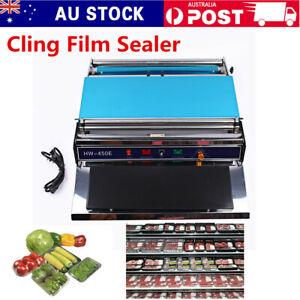 Food Tray Wrapper Film Wrap Sealer Sealing Machine For Fruit
