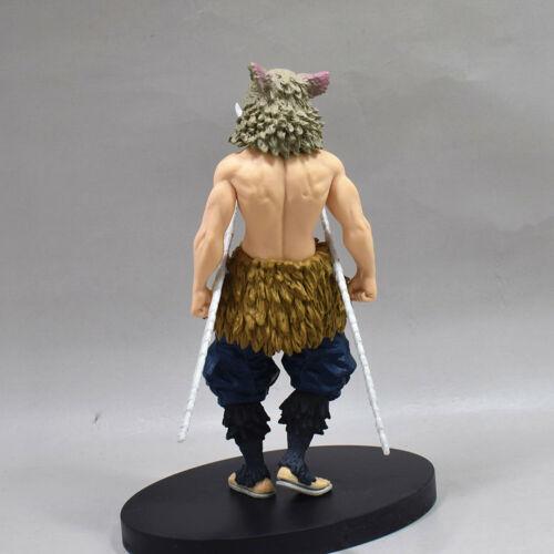 """Kimetsu no Yaiba Inosuke Hashibira Figure 6.3/"""" Toy New Anime Demon Slayer"""