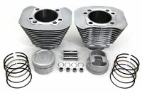 883-1200 Cylinder & Piston Big Bore Silver Kit Harley Sportster 04 +