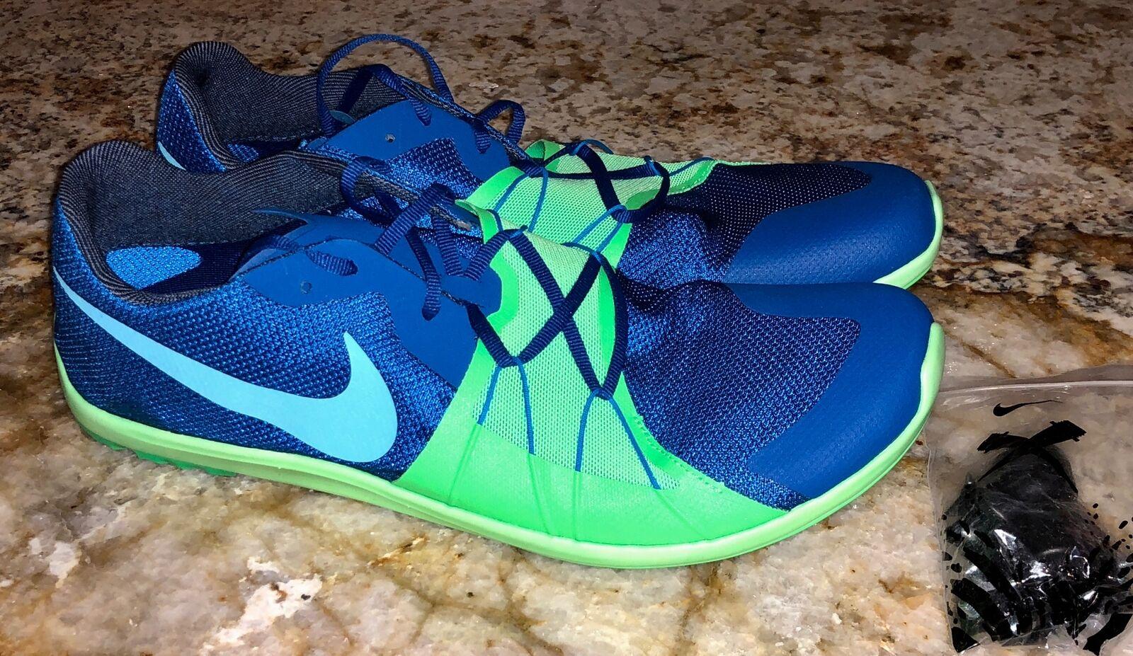 Nike zoom ewig xc 5 blauen jay spitzen kalk cross country spitzen jay schuhen neue herren - sz - 11. b51406