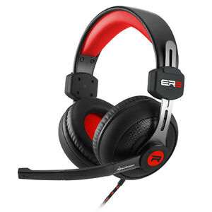 Sharkoon-rush-er2-rojo-Satter-Sound-brillantes-Design-estereo-auriculares