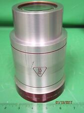 "Bausch and Lomb 6.25"" Super Cinephor 35/70mm Projector Lens 4 inch Daimeter"