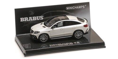 Minichamps - BRABUS 850 AUF BASIS MERCEDES BENZ GLE 63 S 2016 blanco 1 43