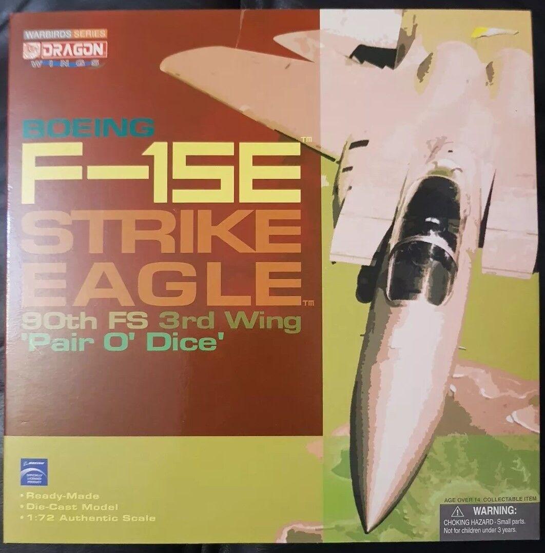 Dragon Wings WARBIRDS série F-15E Strike Eagle 90th FS  paire O Dice  50147