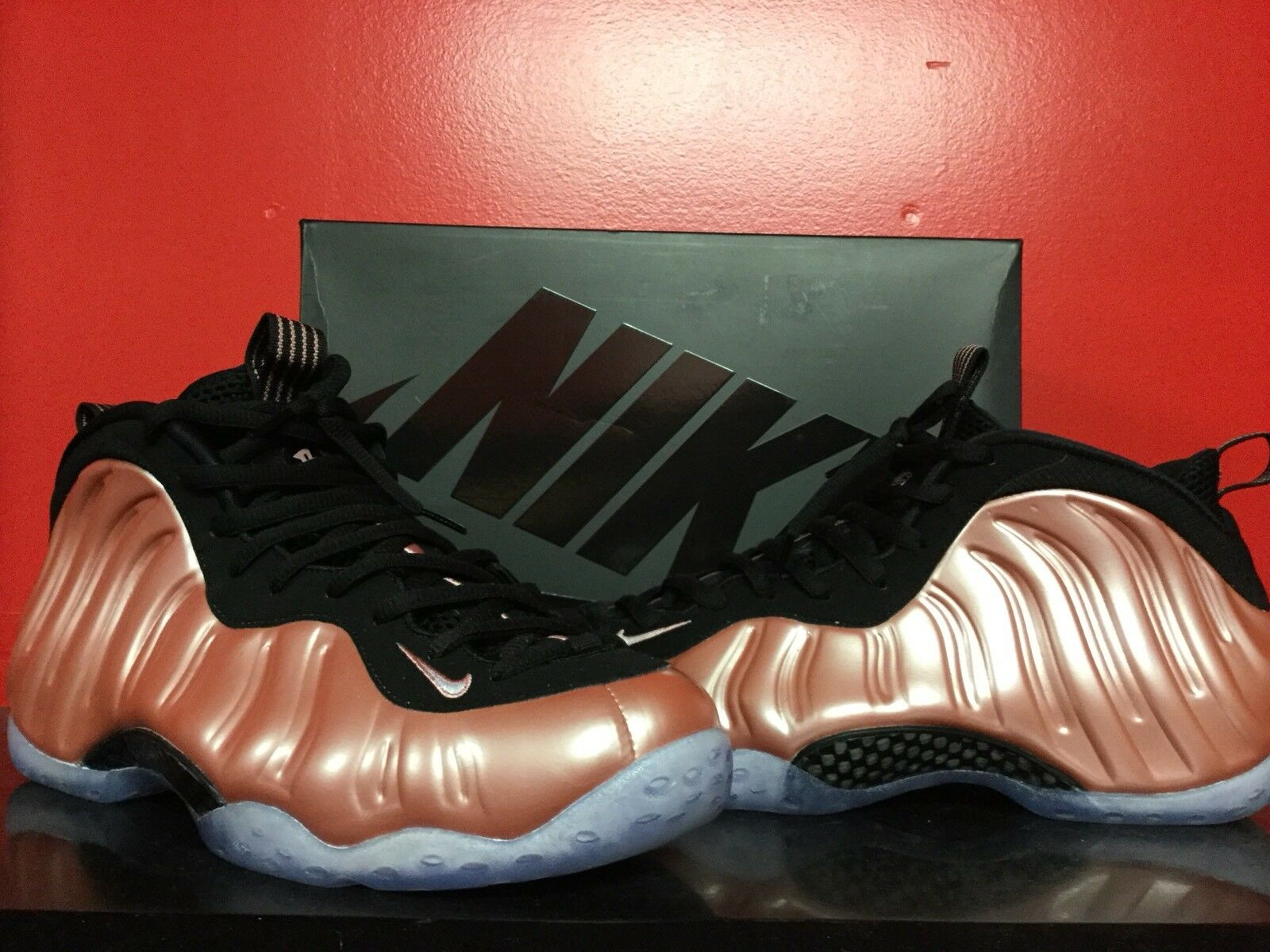 Nike Air FOAMPOSITE ONE Sz ROSE PINK 2018 Release Sz ONE 10.5 excellent CONDITION caffc3