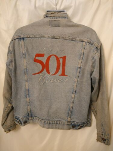 DISTRESSED LEVI'S 70507 0293 denim trucker jacket… - image 1
