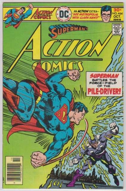 L2964: Action Comics #464, Vol 1, Mint Condition