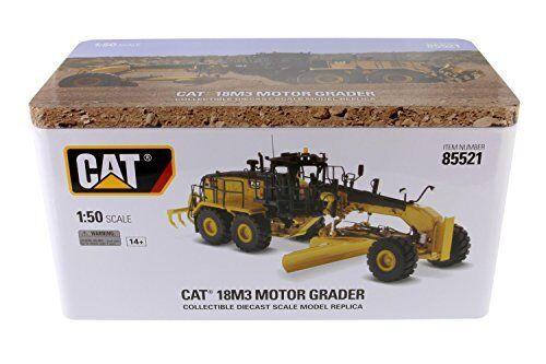 Vous êtes en en en bonne santé pour la nouvelle année. Cat 18M3 Motor Grader 1:50 Model DIECAST MASTERS   La Conception Professionnelle  16cab4