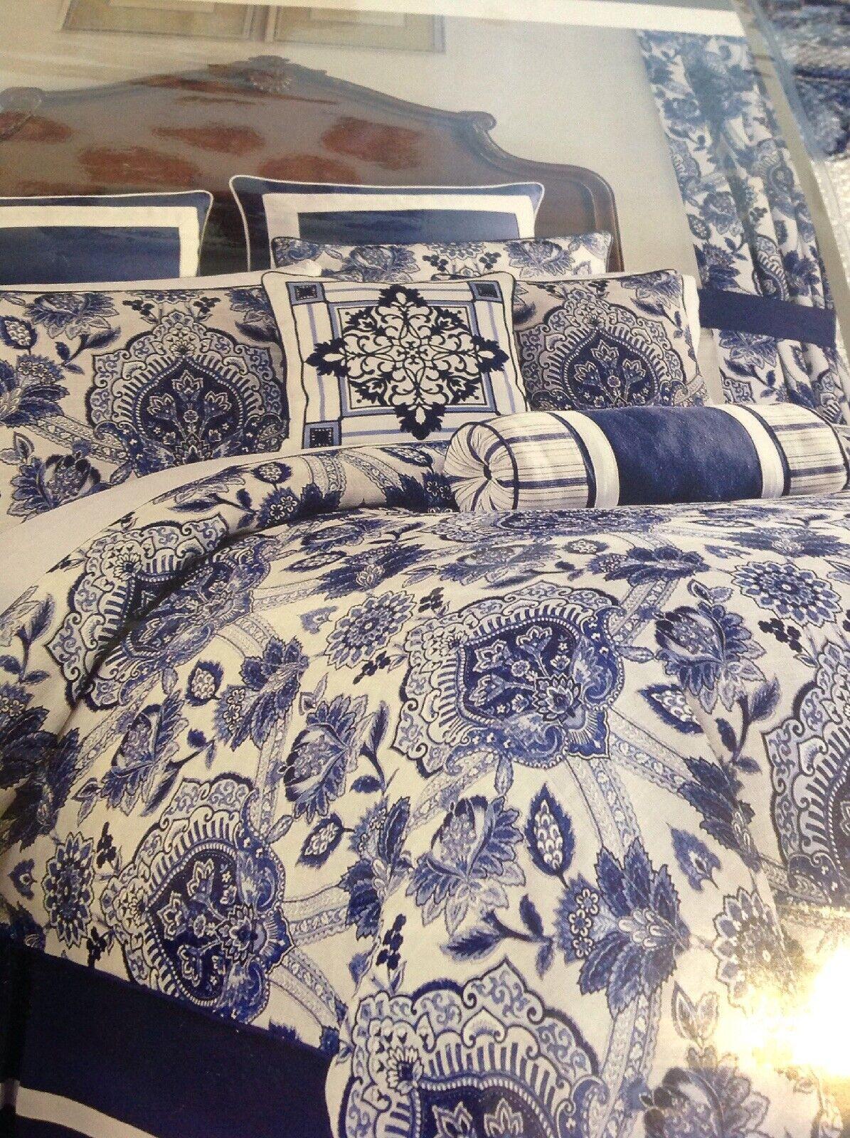 Croscill Leland King Comforter Set, 4 Piece, NIP
