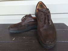 ECCO MENS SEAWALKER TIE LEATHER LACE UP OXFORDS SHOES COFFEE SIZE 11 EUC! $140
