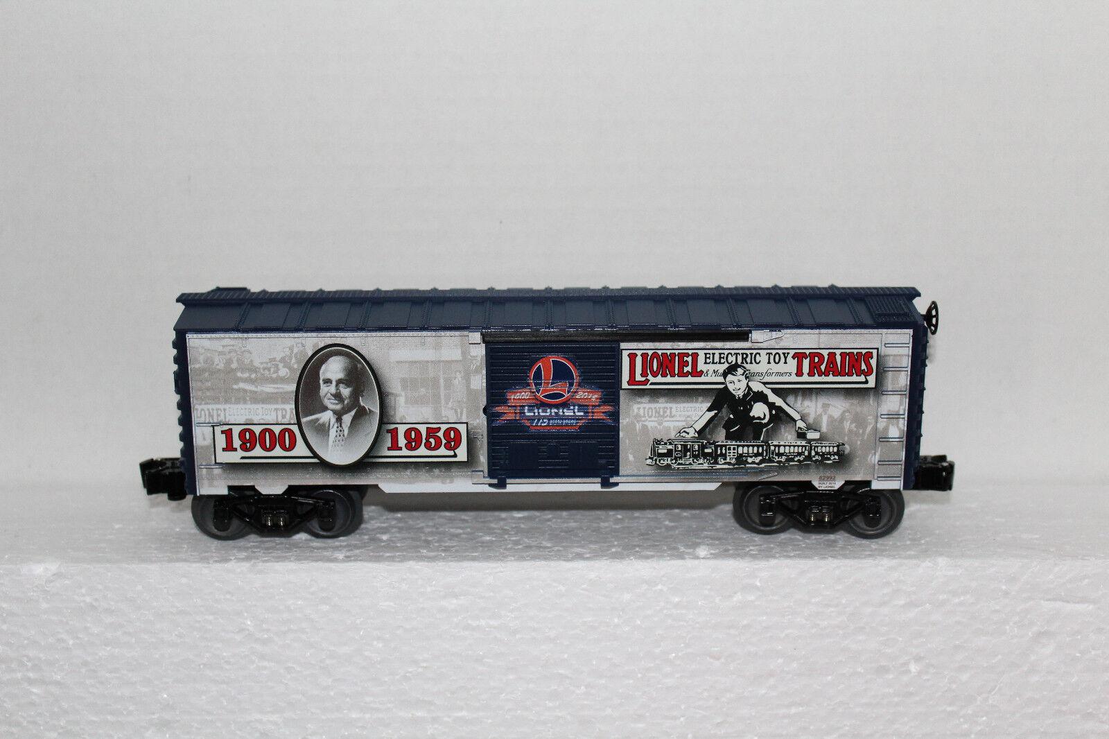 Lionel  th Anniversary Boxcar