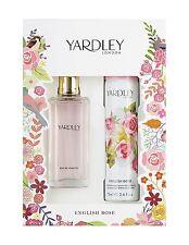 Yardley London English Rose EDT 50ml and Body Spray 75ml Gift Set