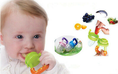 GR AU Nipple Fresh Food Milk Nibbler Feeder Feeding Tool Safe Baby Supplies