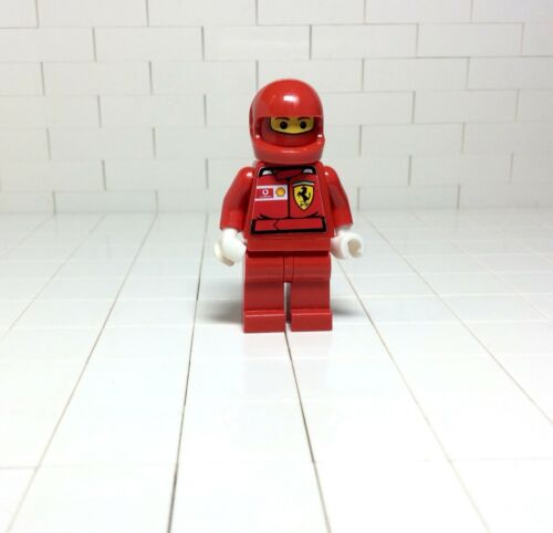 3626bpx255 b17 # Lego Figur Minifig Ferrari Sticker 8672 8375 8654 8672