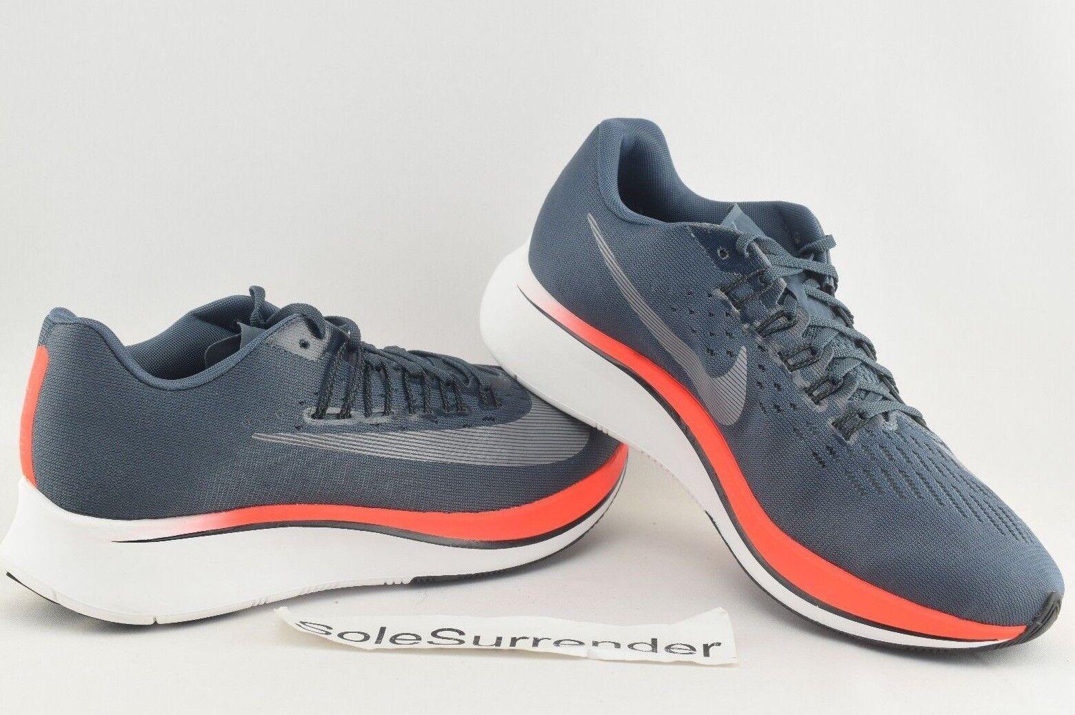 Women's Nike Zoom Fly - CHOOSE SIZE - 897821-400 Ice Fox Crimson Red Vapor White