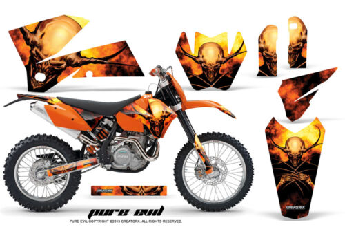 CREATORX GRAPHICS KIT FOR KTM 0507 XC 0506 SX STICKERS PE