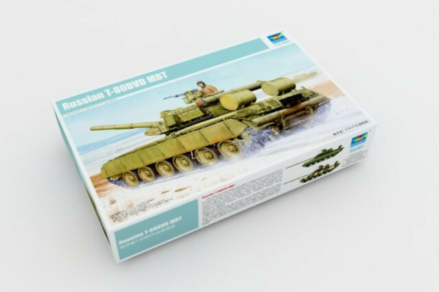 Trumpeter 1/35 05581 Russian main battle tank T-80BVD