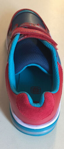 Clarks Piper Fun Inf Garçons Rouge Combi TRAINER Taille 10.5 F//8.5 G