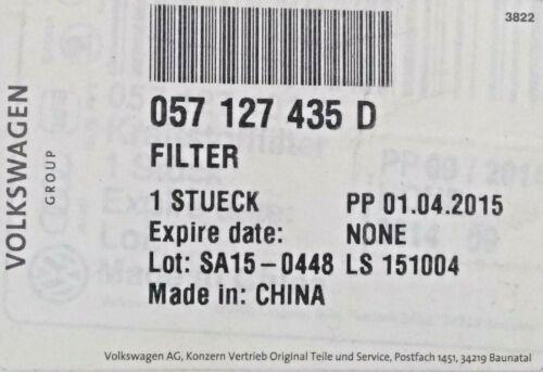 Genuine AUDI A4 A6 VW Passat Superb 2.5 V6 TDI Diesel Filtre à carburant 057 127 435 D