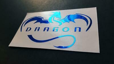Bumper Sticker Spacex Dragon vinyl Decal Mail w //Tracking Tesla Car laptop
