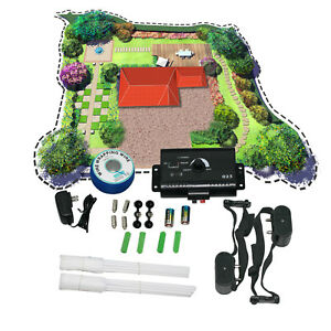 Electric-Shock-Audio-Collar-2-Dog-Pet-Fence-System-Waterproof