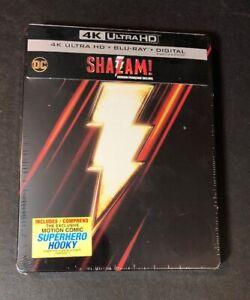 Shazam-Limited-Edition-STEELBOOK-4K-Ultra-HD-Blu-ray-NEW