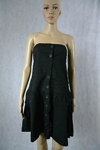 HOT-OPTIONS-BNWT-Black-49-99-Tube-Summer-Dress-12-Boob-M-Target-Embroidered