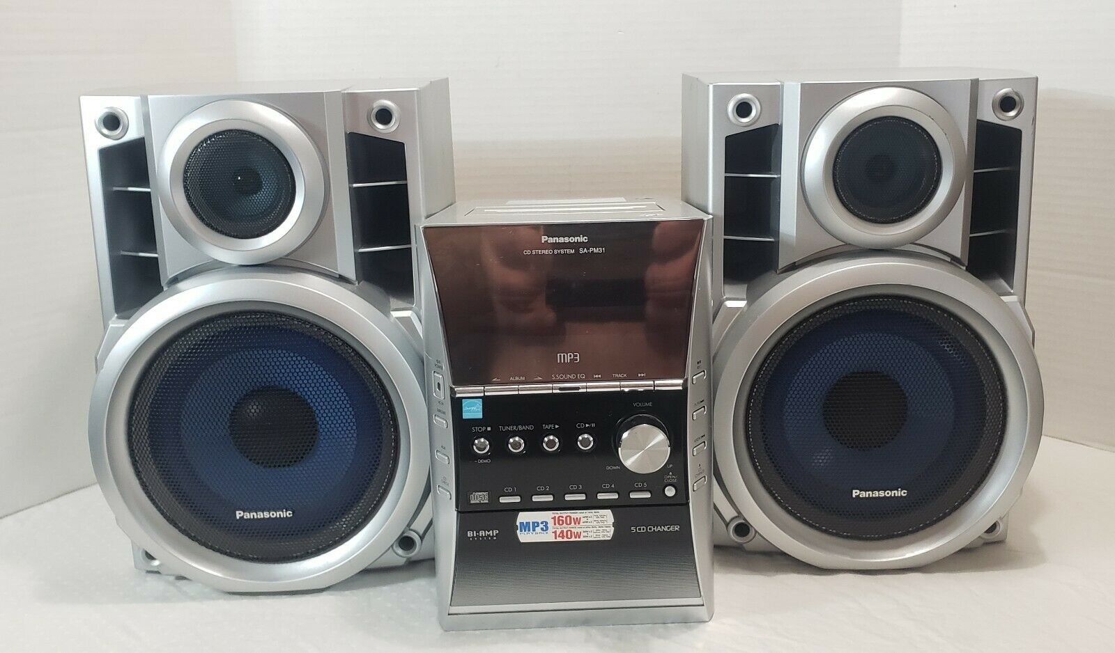 Panasonic Sa Pm 31 Cd Stereo System For Sale Online Ebay