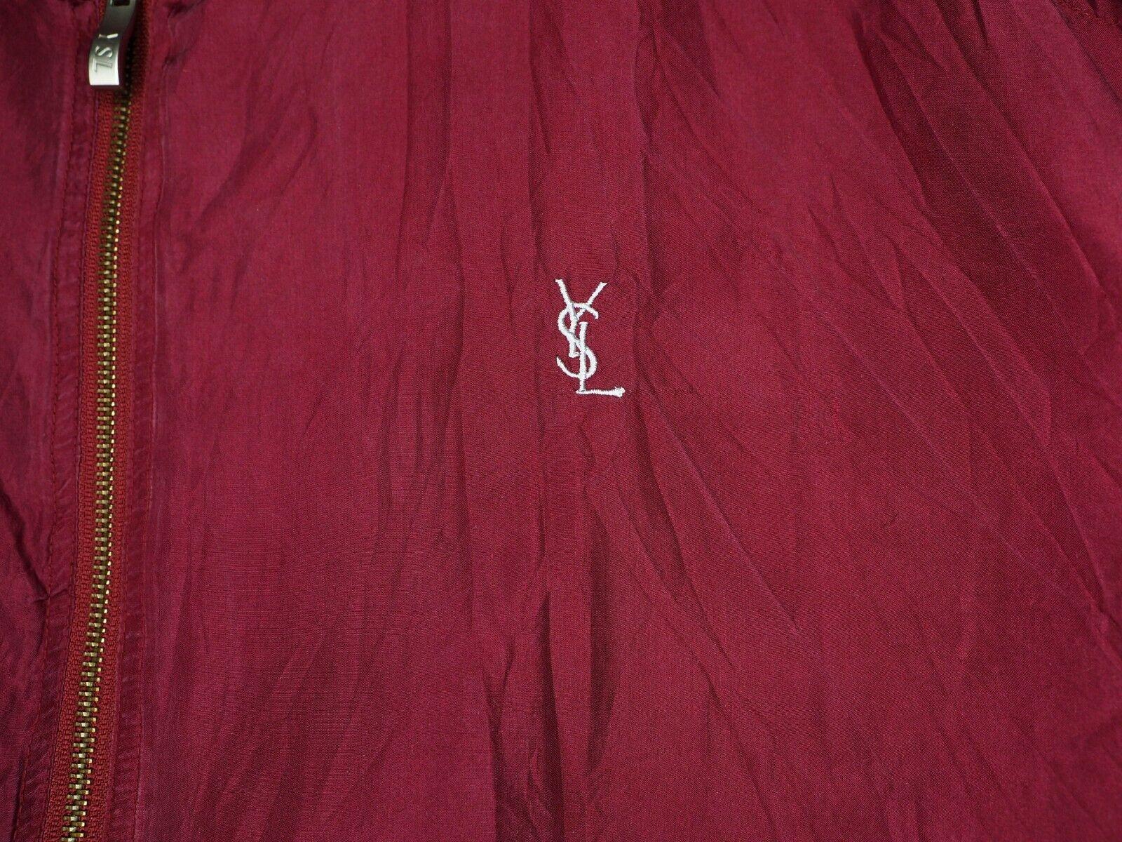 YSL Yves Saint Laurent bomber jacket short coat w… - image 5