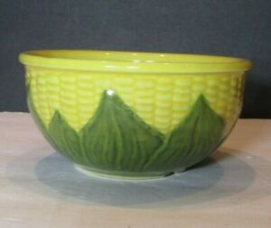 Vintage Shawnee CORN KING MIXING BOWL #6-FREE SHIPPING-Great Color!