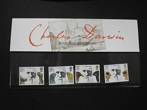 1982-GREAT-BRITAIN-PRESENTATION-PACK-No-132-CHARLES-DARWIN